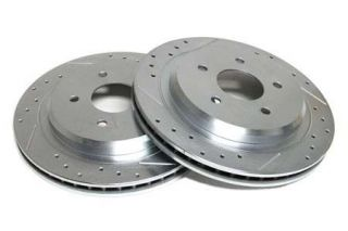84-87 Power Stop Drilled & Slotted Rotors - Rear (Default)