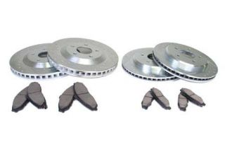 "88-96 13"" Power Stop Drilled & Slotted Rotors w/Z26 Warrior Brake Pads (Default)"