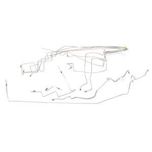 87 Brake Line Set - Steel (8-Piece)
