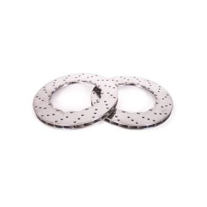 """06-13 ZO6/GS Rear 13"""" 2pc Drilled Brake Rotor Replacement Ring"""