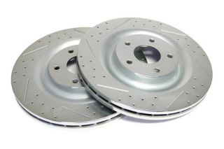 06-13 Z06/GS Power Stop Drilled & Slotted Front Rotors