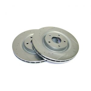 05-13 Z51 Power Stop Drilled & Slotted Front Rotors