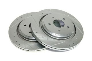 05-13 Z51 Power Stop Drilled & Slotted Rear Rotors
