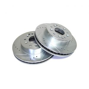 65-82 Power Stop Drilled & Slotted Rear Brake Rotors