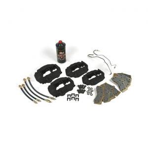 65-82 Disc Brake Overhaul Kit (New Calipers w/ O-Ring Seal - No Delco)