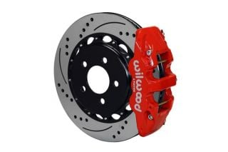 "97-13 Wilwood AERO4 Rear Brake Kit w/ 14"" SRP Rotors"