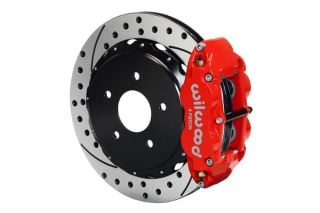 "97-13 Wilwood Superlite 4R Rear Brake Kit w/ 12.8"" SRP Rotors (OE Park Brake)"