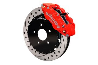 "05-13 Wilwood Superlite 6R Front Brake Kit w/ 14"" SRP Rotors In Red"