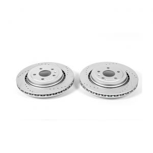 14-18 JL9 Power Stop Drilled & Slotted Rear Rotors