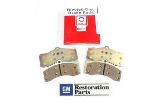 65-82 Organic Brake Pads - Axle Set (Correct)