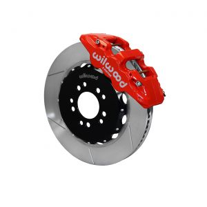 "14-19 Wilwood AERO6 Front Brake Kit w/15"" GT Slotted Rotors"