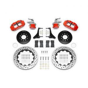 63-82 Wilwood Superlight 4R-MC4 Rear Brake Kit w/Parking Brake - SRP Rotors (Use with DSE Suspension)