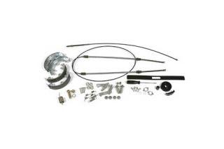 1967-1982 Corvette Park Brake Cable Kit w/Steel Cables