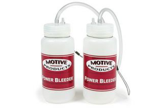 Motive Power Brake Bleeding Catch Bottles