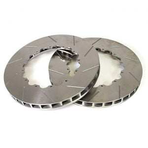 """2006-2013 Corvette Z06/Grand Sport Front 14"""" Slotted Brake Rotor Replacement Rings"""