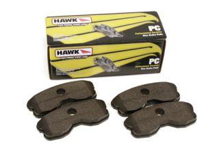 2006-2013 Z06/Grand Sport Rear Hawk Ceramic Brake Pads (1-piece)