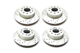 65-82 ProSlot Performance Slotted & Drilled Brake Rotor Set