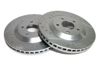 97-04 Power Stop Drilled & Slotted Rotors - Front (Default)