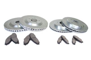 97-04 Power Stop Drilled & Slotted Rotors w/Ceramic Brake Pads (Default)