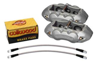 65-82 D8-6 Wilwood (6-Piston) Front Brake Kit (Natural) (Default)