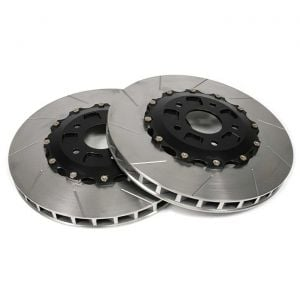 """06-13 ZO6/GS Front 14"""" 2pc Slotted Brake Rotors"""