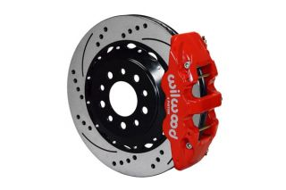14-18 Wilwood Aerolite 4R Rear Brake Kit w/SRP Drilled Rotors