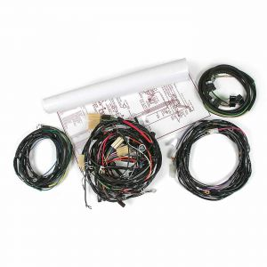 55 V8 w/Auto Wiring Harness Package