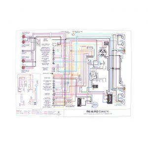 61-62 Color Wiring Diagram (18 x 24)