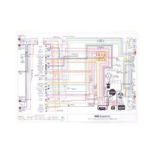 65 Color Wiring Diagram (18 x 24)