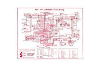 1955-1957 Corvette Wiring Diagram
