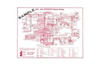 C2 Corvette Wiring Diagrams 1963 1967