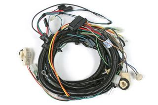 1980 Corvette w/o Stereo Tape Headlight Wiring Harness