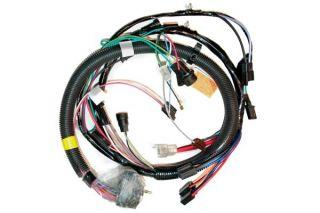 81 Manual Engine Wiring Harness