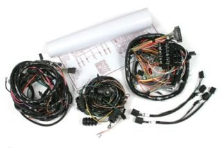 1966 Corvette Wiring Harness Package