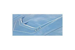 1970E Corvette LT1 Hood Stripe Stencil Kit
