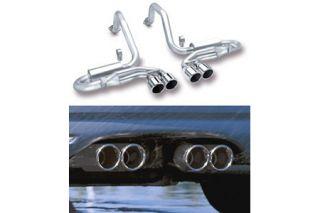 "1997-2004 Corvette Borla ""Stinger"" Exhaust System - Quad 4"" Round Tips"
