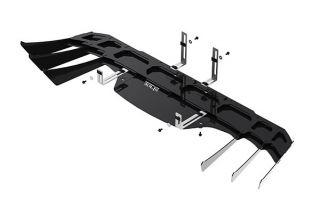 14-19 BORLA Exhaust Rear Fascia Diffuser (Black)