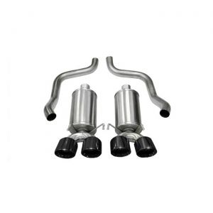 09-13 LS3 Corsa Xtreme Exhaust - Quad 3.5in Black Tips