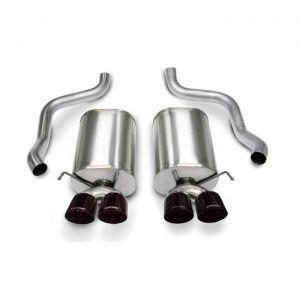 05-08 LS2/LS3 Corsa Sport Exhaust System - Quad 4.5in Black Tips
