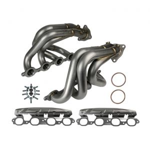 20-21 aFe Twisted Steel Stainless Shorty Headers