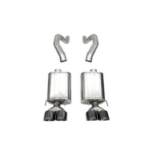 06-13 LS7/LS9 Corsa extrême Exhaust System - Black PVD 4.5in Pro Series Tips