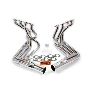 65-74 427/454 Doug's Headers Side Mount Exhaust Header - Chrome