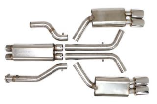 """1996 Corvette LT4 BBE 3"""" Tri-Flo Exhaust System"""