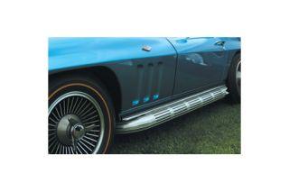 1963-1967 Corvette Side Exhaust Cover & Upper Trim Set