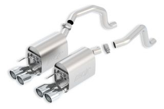 2009-2013 Corvette LS3 BORLA S-Type II Exhaust System w/Round Tips (New Design)