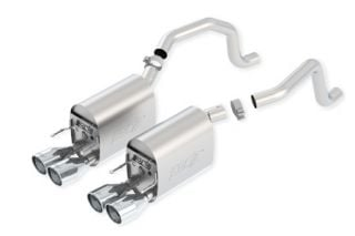 2005-2008 Corvette LS2/LS3 BORLA Touring Exhaust System w/Round Tips (New Design)