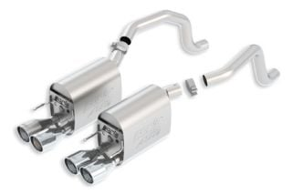 2005-2008 LS2/LS3 BORLA ATAK Exhaust System w/Round Tips (New Design)