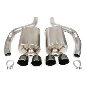 "2006-2013 Corvette LS7/LS9 CORSA Sport Exhaust System w/4"" Black Diamond Tips"