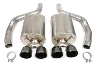 "2006-2013 Corvette LS7/LS9 CORSA Sport Exhaust System w/4"" Black Diamond Tips"