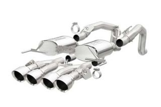 "14-18 w/NPP Magnaflow Axle-Back Exhaust System w/4.5"" Quad Tips (Default)"